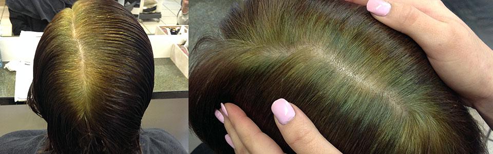 Graue haare farben mit culumnatura
